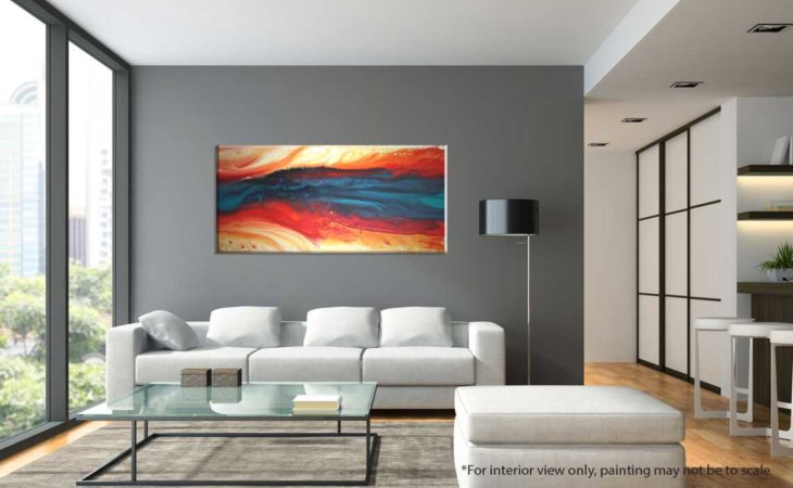 Vibrant-Swirl-Abstract-Painting-interior-view