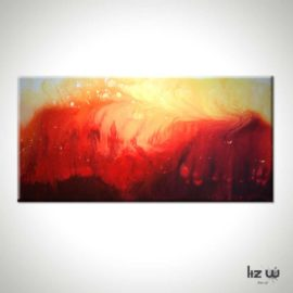 Solar Flare Abstract Painting