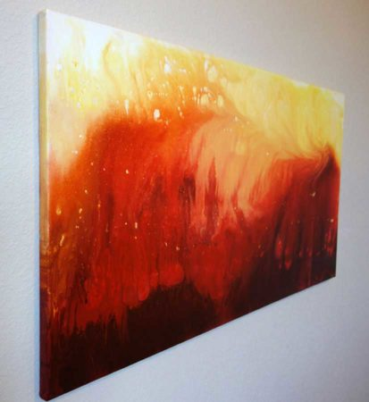 Solar-Flare-Abstract-Painting-Side