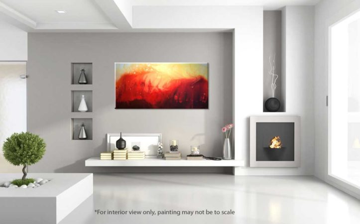 Solar-Flare-Abstract-Painting-interior-view