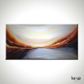 Desert Essence Abstract Painting