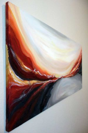 Desert-Essence-Abstract-Painting-side