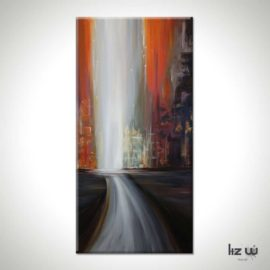 Fall Passage Abstract Painting