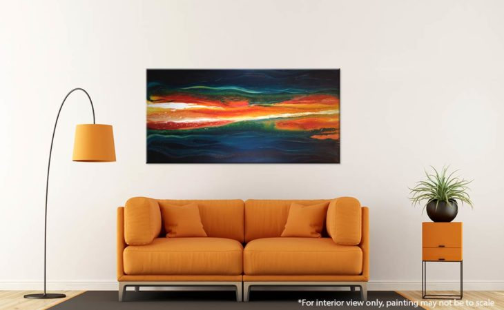 Ignited-Liz-W-Abstract-Lava-Painting-interior