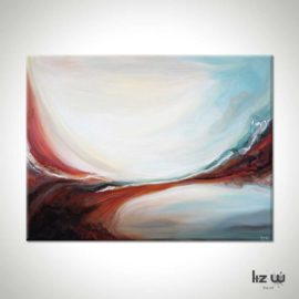 Swept Away Abstract Painting