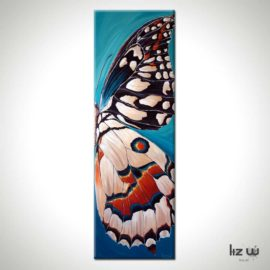 Landed Butterfly Painting