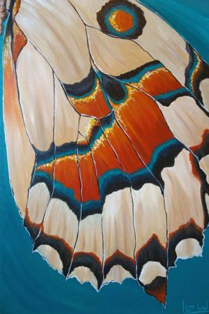 Landed-Butterfly-Wing-Painting-close-up-2