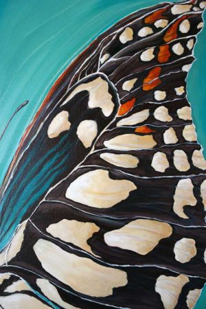 Landed-Butterfly-Wing-Painting-close-up