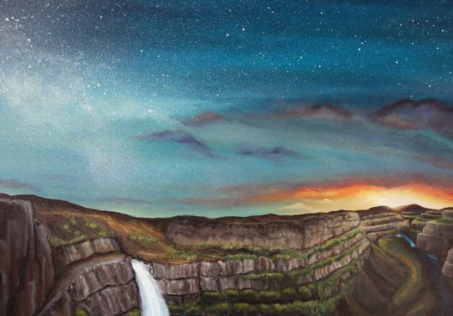 Palouse-Falls-Waterfall-Painting-close-up