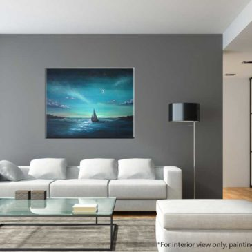 Crescent-Sail-Moon-Sailboat-Painting-interior-view