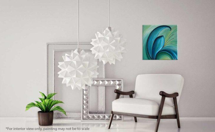 Aqua-Petals-Flower-Petal-Painting-interior-view