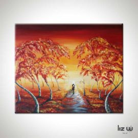 Rooted Love Landscape Painting