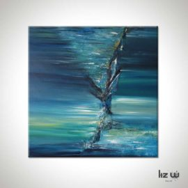 Whirlwind Abstract Painting