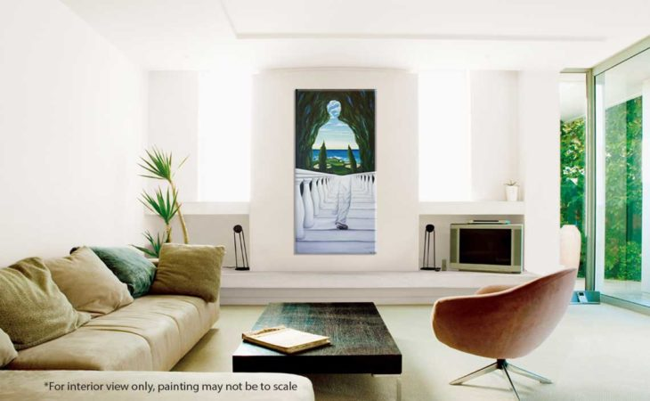 Descent-to-Pebble-Beach-Golf-Painting-interior-view-2