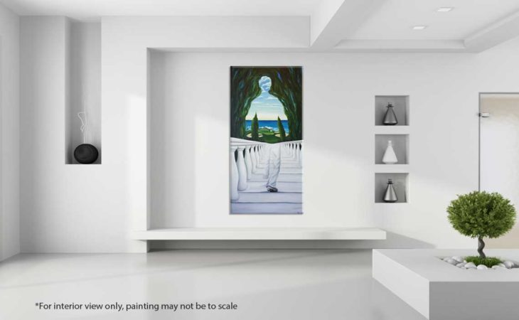 Descent-to-Pebble-Beach-Golf-Painting-interior-view