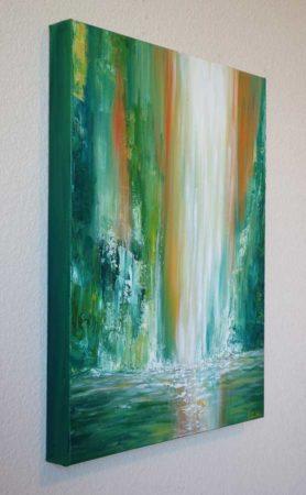 Maui-Falls-Waterfall-Painting-side
