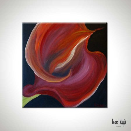 Red-CallaLily-Floral-Painting