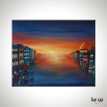 Venice-Sunset-Painting