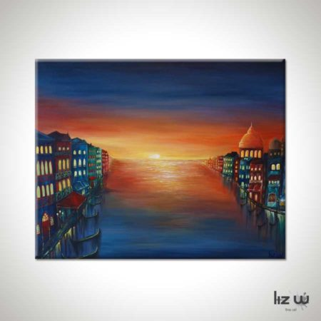 Venice-Sunset-Painting
