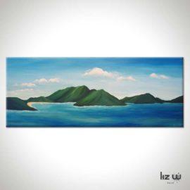 Virgin Islands Seascape Painting