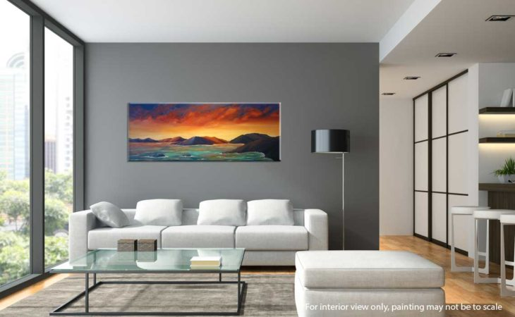Firey-Sunset-in-the-Virgin-Islands-Painting-interior-view-2