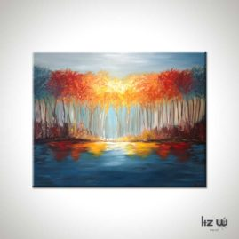 Return to Autumn Landscape Painting