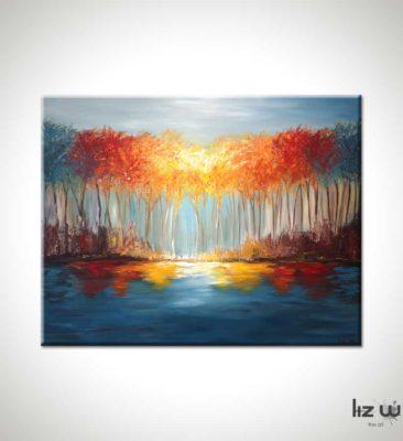 Return to Autumn Landscape Painting