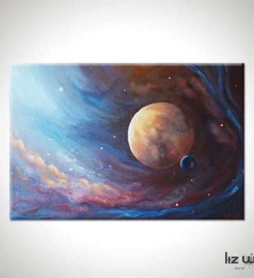 The Unknown Planet Spacescape Painting