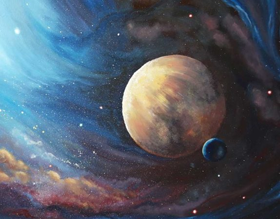 The-Unknown-Planet-Space-Painting-close-up