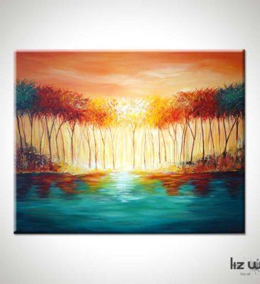 Myers Lake Landscape Painting