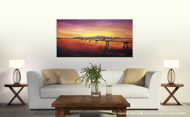 Edmonds Sea Painting-an-engagement-at-the-edmonds-pier-liz-w-seascape-painting-interior