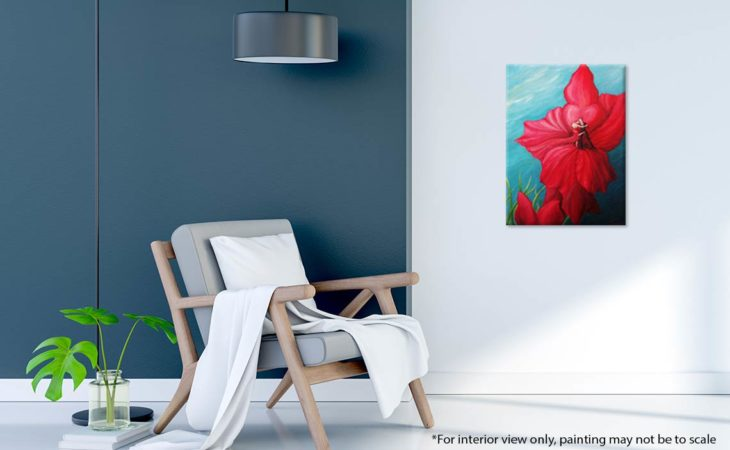 Tango-Floral-Painting-Argentine-Tango-Liz-W-Floral-Painting-interior-2