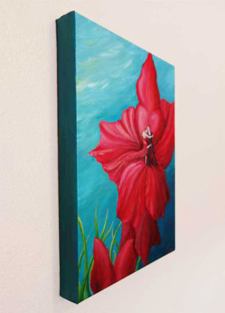 Tango-Floral-Painting-Argentine-Tango-Liz-W-Floral-Painting-side