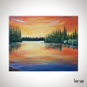 landscape-lake-painting-lake-limerick-liz-w-landscape-painting