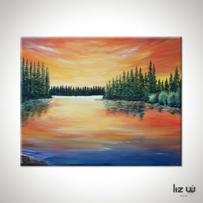 lake-limerick-liz-w-landscape-painting