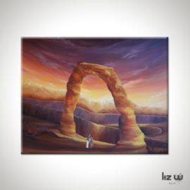 Delicate Arch Landscape Painting
