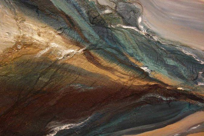 Through-Water-to-Earth-Abstract-Painting-close-up-3-Liz-W