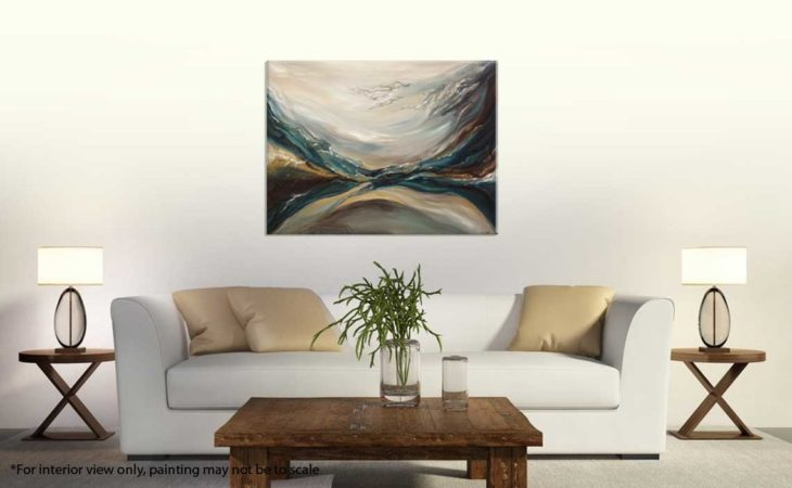 Through-Water-to-Earth-Abstract-Painting-interior-2-Liz-W