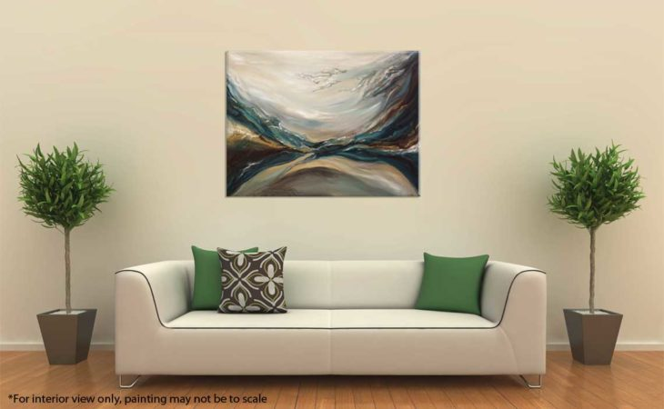 Through-Water-to-Earth-Abstract-Painting-interior-3-Liz-W