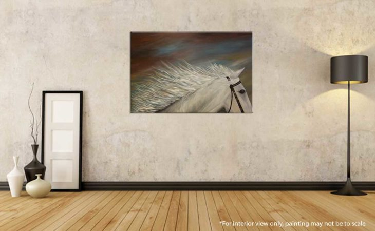White-Horse-Painting-Liz-W-Figure-Painting-interior-2