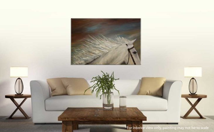 White-Horse-Painting-Liz-W-Figure-Painting-interior