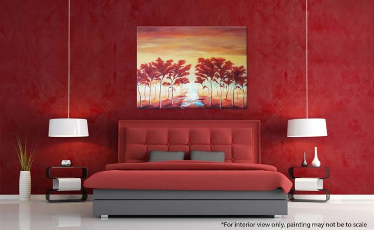 Landscape-Tree-Painting-Whispering-Path-Through-the-Trees-Liz-W-Landscape-Painting-Interior-2