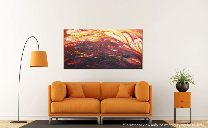 All-you-have-is-your-fire-Abstract-Painting-Liz-W-interior