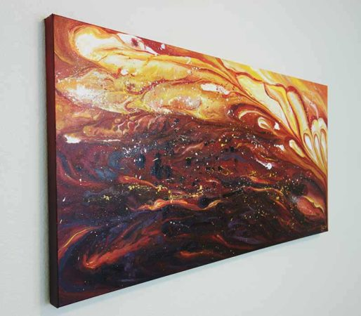 All-you-have-is-your-fire-Abstract-Painting-Liz-W-side