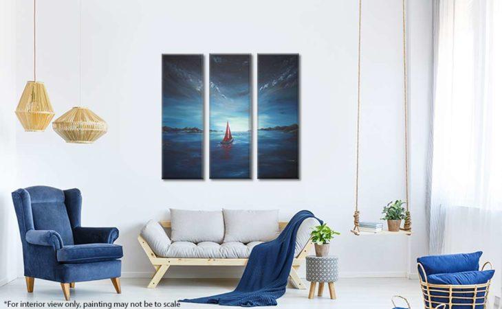Twilight-Red-Sailboat-Painting-Liz-W-interior-8