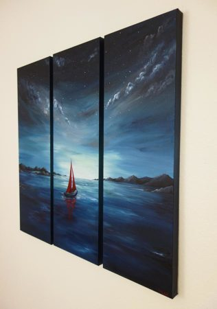 Twilight-Red-Sailboat-Painting-side