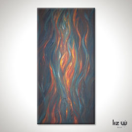 Fire-In-My-Soul-Abstract-Flame-Painting-Liz-W