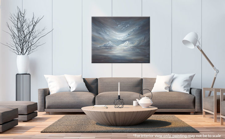 Nightfall-Over-The-Mountains-Painting-Liz-W