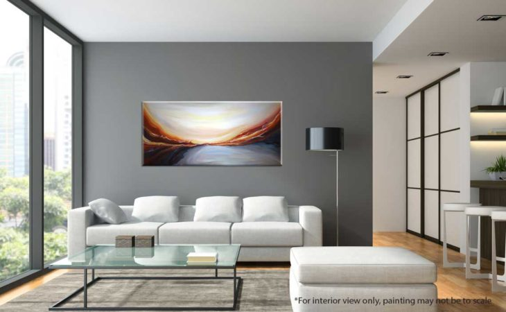 Desert-Essence-Abstract-Painting-interior-view