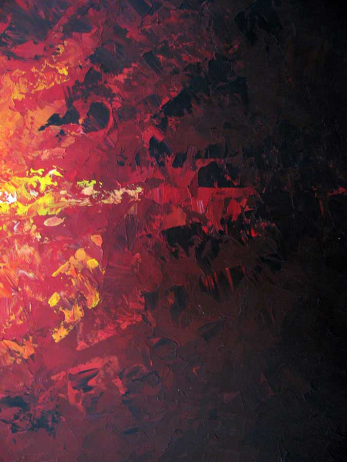 Element Of Fire Abstract Painting Liz W Fine Art
